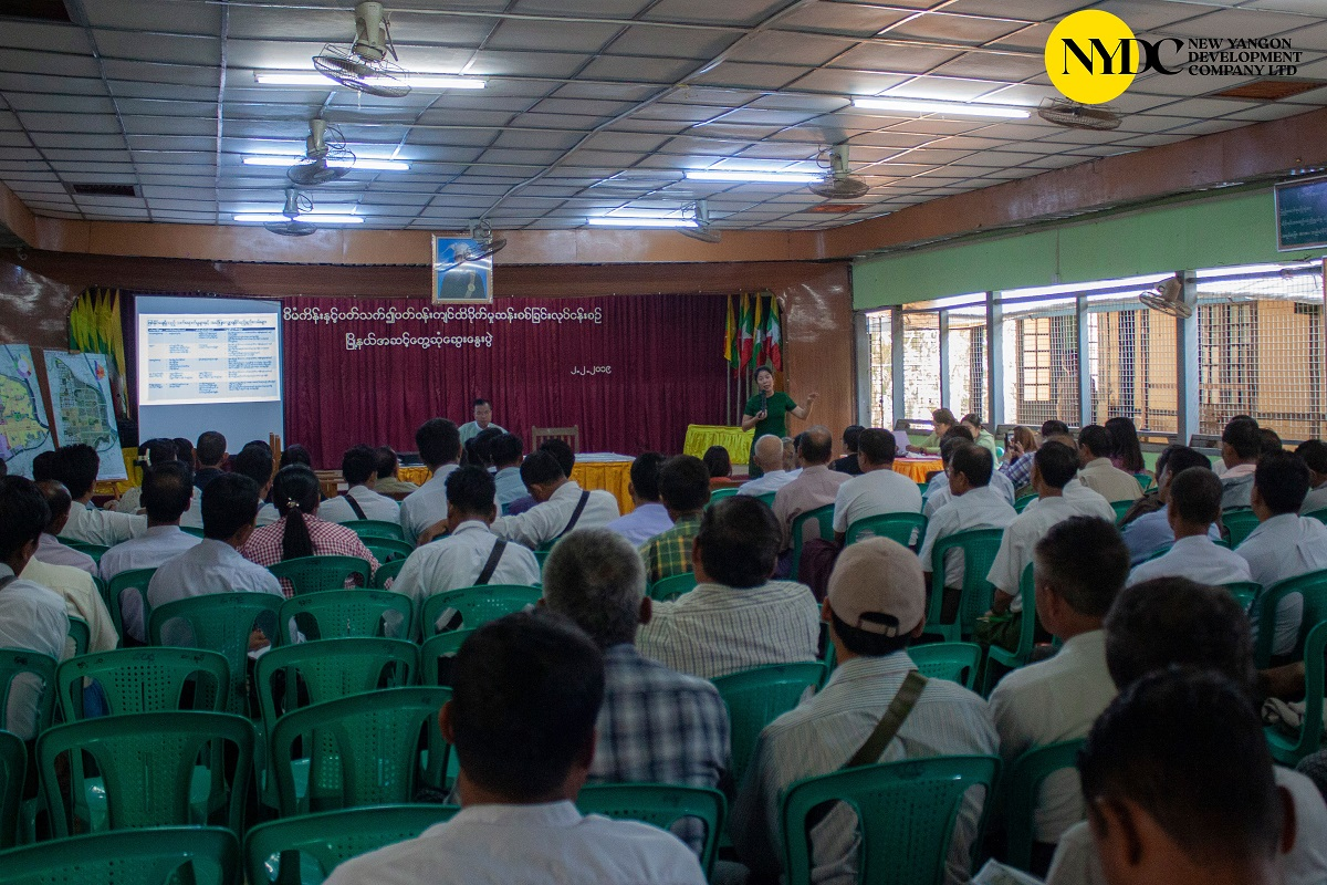 Stakeholder Meeting for resettlement areas of New Yangon City